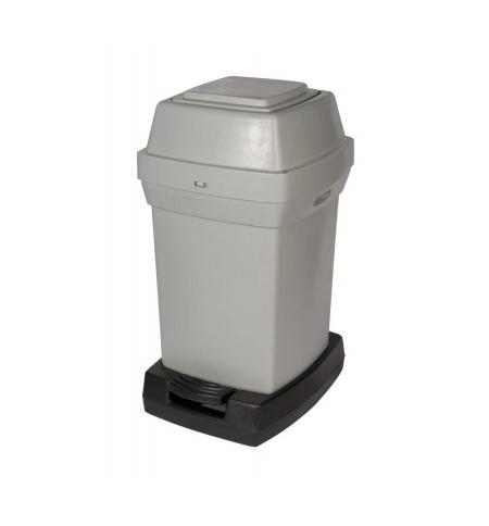 фото: Контейнер для подгузников Rubbermaid 65л серый, для подгузников, RNAP2PEDG