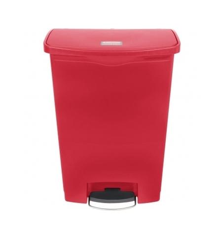 фото: Контейнер для мусора с педалью Rubbermaid Step-On 90л красный, 1883570