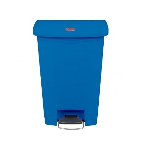 фото: Контейнер для мусора с педалью Rubbermaid Step-On 50л синий, 1883593
