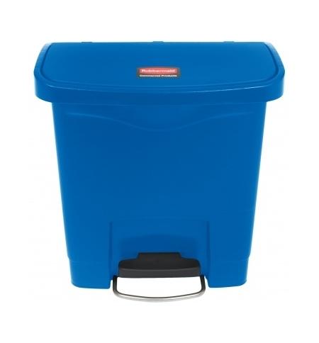 фото: Ведро для мусора с педалью Rubbermaid Step-On 15л синее, 1883590
