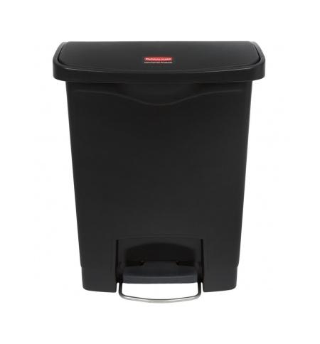фото: Контейнер для мусора с педалью Rubbermaid Step-On 30л черный, 1883609