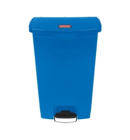 фото: Контейнер для мусора с педалью Rubbermaid Step-On 68л синий, 1883595