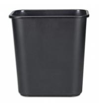Корзина для бумаг Rubbermaid 26.6л черная, FG295600BLA