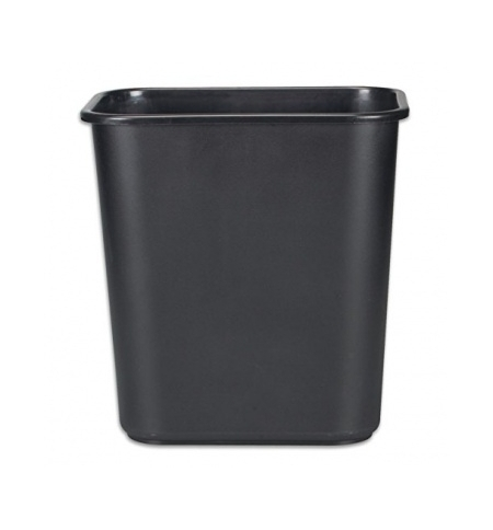 фото: Корзина для бумаг Rubbermaid 26.6л черная, FG295600BLA