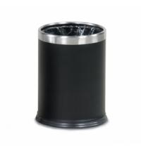 Корзина для бумаг Rubbermaid Hide-A-Bag 13л металлик, с системой скрытия мешка, FGWHB14SS
