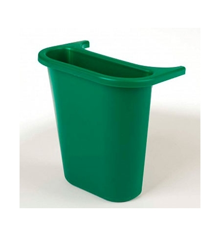 фото: Контейнер для мусора подвесной Rubbermaid 4.5л серый, для 2956/2957/2543 , FG295073GRAY