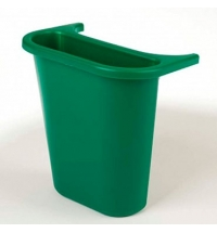 Контейнер для мусора подвесной Rubbermaid 4.5л синий, для 2956/2957/2543, FG295073BLUE