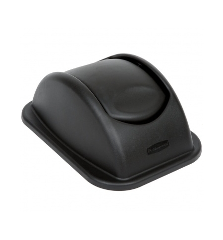 фото: Крышка для контейнера Rubbermaid Untouchable 26.6л качающаяся, черная, FG306600BLA
