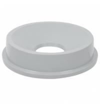 Крышка для контейнера Rubbermaid Untouchable 83.3л воронкообразная, серая, FG354800GRAY