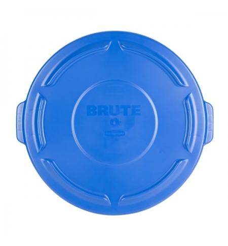 фото: Крышка для контейнера Rubbermaid Brute 75.7л синяя, 1779731