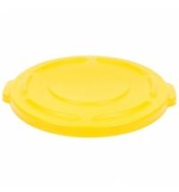 Крышка для контейнера Rubbermaid Brute 75.7л желтая, FG261960YEL