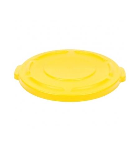 фото: Крышка для контейнера Rubbermaid Brute 75.7л желтая, FG261960YEL
