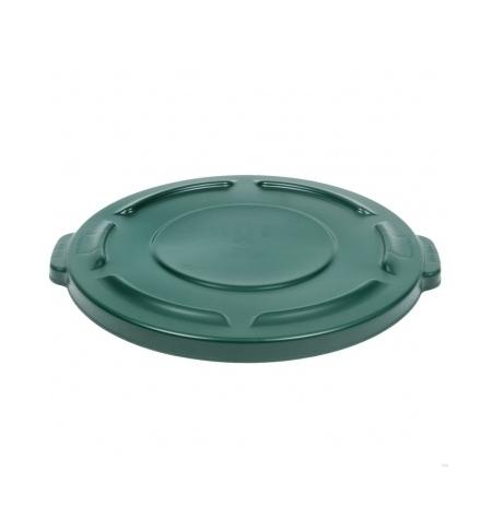 фото: Крышка для контейнера Rubbermaid Brute 75.7л зеленая, FG261960DGRN