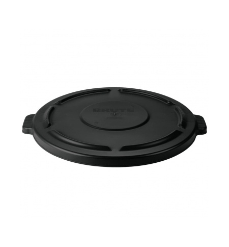 фото: Крышка для контейнера Rubbermaid Brute 75.7л черная, FG261960BLA