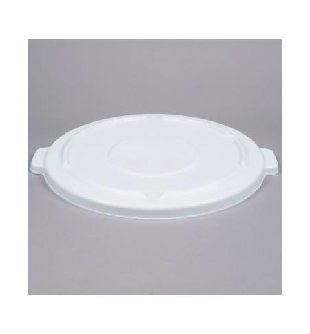 фото: Крышка для контейнера Rubbermaid Brute 166.5л белая, FG264560WHT