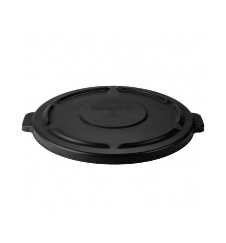 фото: Крышка для контейнера Rubbermaid Brute 166.5л черная, FG264560BLA