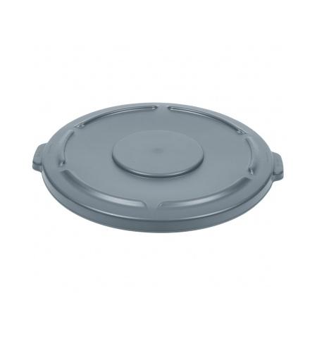 фото: Крышка для контейнера Rubbermaid Brute 208л серая, FG265400GRAY