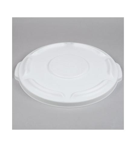 фото: Крышка для контейнера Rubbermaid Brute 37.9л с защелкой, белая, FG260900WHT