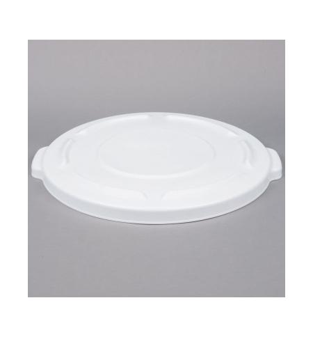 фото: Крышка для контейнера Rubbermaid Brute 75.7л белая, FG261960WHT