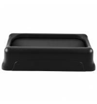 фото: Крышка для контейнера Rubbermaid SlimJim 87л/60л маятник, черная, FG267360BLA