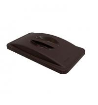 Крышка для контейнера Rubbermaid SlimJim 87л/60л с ручкой, серая, FG268888LGRAY