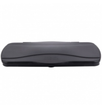 Крышка для контейнера Rubbermaid SlimJim 87л/60л откидная, черная, FG267400BLA
