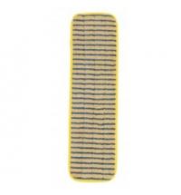 Насадка для швабры моп Rubbermaid Hygen 40х14см скребок, микрофибра/полиэстер, R034556