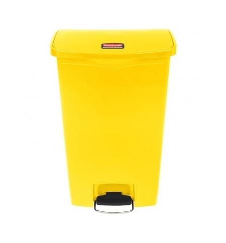 фото: Контейнер для мусора с педалью Rubbermaid Step-On 68л желтый, 1883577