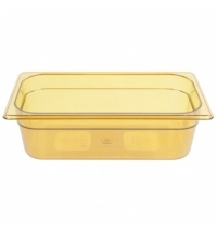 Поддон для горячих продуктов Rubbermaid GN1/3 3.8л янтарный, FG217P00AMBR