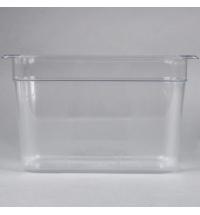 Поддон для холодных продуктов Rubbermaid GN1/3 7л прозрачный, FG119P00CLR