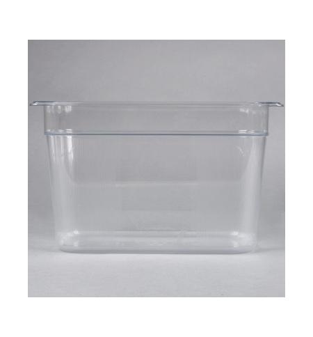 фото: Поддон для холодных продуктов Rubbermaid GN1/3 7л прозрачный, FG119P00CLR