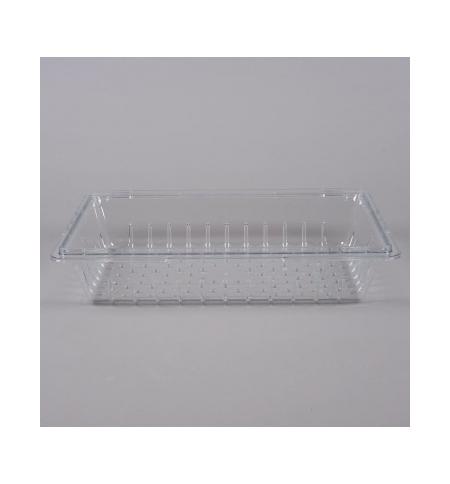 фото: Дуршлаг для контейнера для продуктов Rubbermaid ProSave 32л/47л/63л/81л прозрачный, FG330300CLR