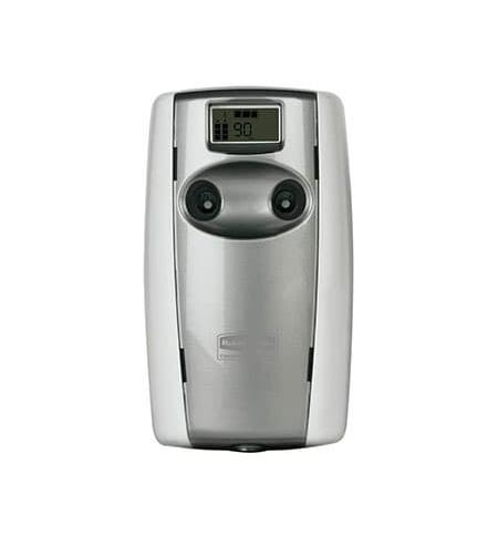 фото: Диспенсер для освежителя воздуха Rubbermaid Microburst Duet белый/серый перламутр, 2х121мл, FG487000