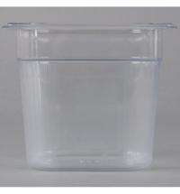 фото: Поддон для холодных продуктов Rubbermaid 2.4л, прозрачный, 2020960