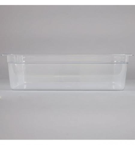 фото: Поддон для холодных продуктов Rubbermaid GN1/1 19.5л, прозрачный, 2020980