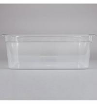 фото: Поддон для холодных продуктов Rubbermaid GN1/1 25.7л, прозрачный, 2020797
