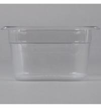 Поддон для холодных продуктов Rubbermaid GN1/6 1.6л, прозрачный, 2020800