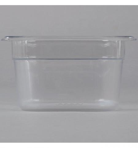 фото: Поддон для холодных продуктов Rubbermaid GN1/6 1.6л, прозрачный, 2020800