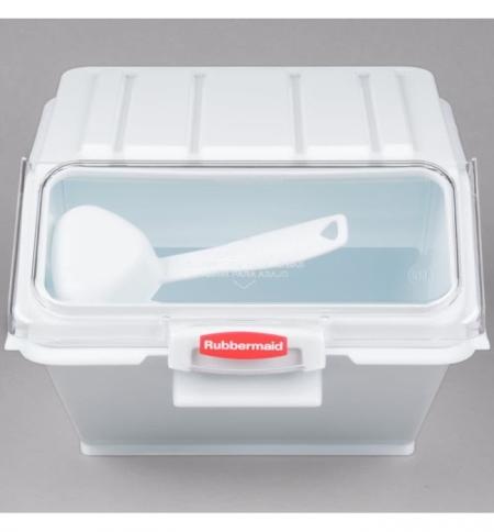 фото: Контейнер для продуктов Rubbermaid 10л, с ковшом