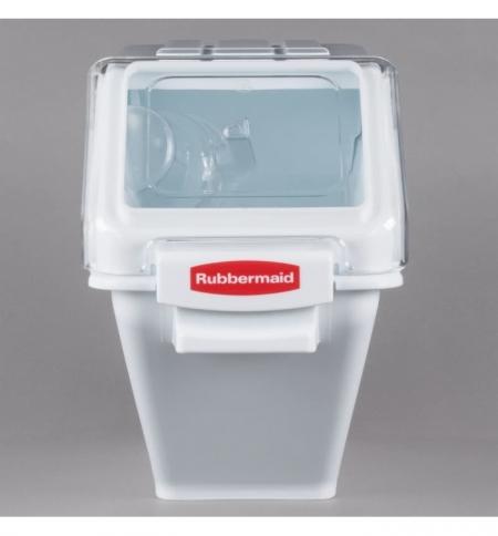 фото: Контейнер для продуктов Rubbermaid 59.7х29.3х42.7см, 24л, с ковшом