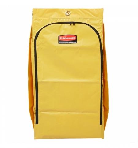 фото: Мешок для уборочных тележек Rubbermaid 129л, желтый, 1966881