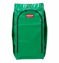 Мешок для уборочных тележек Rubbermaid 129л, зеленый, 1966884