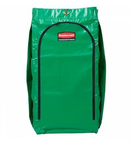 фото: Мешок для уборочных тележек Rubbermaid 129л, зеленый, 1966884