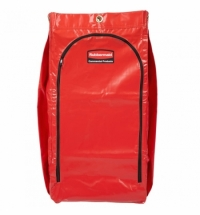 Мешок для уборочных тележек Rubbermaid 129л, красный, 1966882