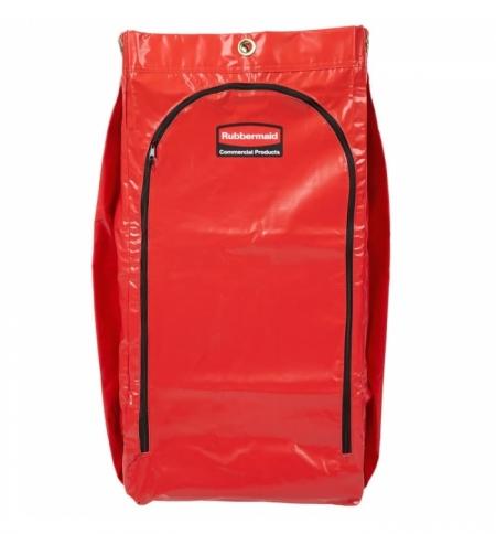фото: Мешок для уборочных тележек Rubbermaid 129л, красный, 1966882