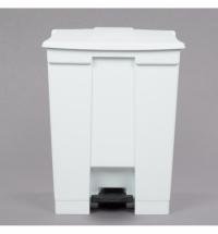 Контейнер для мусора с педалью Rubbermaid Step-on Can 68.1л, белый, FG614500WHT