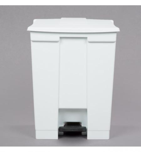 фото: Контейнер для мусора с педалью Rubbermaid Step-on Can 68.1л, белый, FG614500WHT