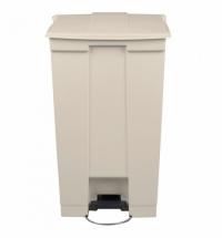Контейнер для мусора с педалью Rubbermaid Step-on Can 87л, бежевый, FG614600BEIG