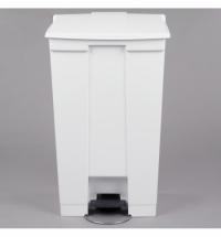 Контейнер для мусора с педалью Rubbermaid Step-on Can 87л, белый, FG614600WHT