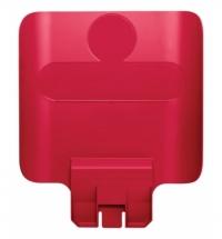 Информационная табличка для контейнера Rubbermaid Slim Jim красная, 2007905